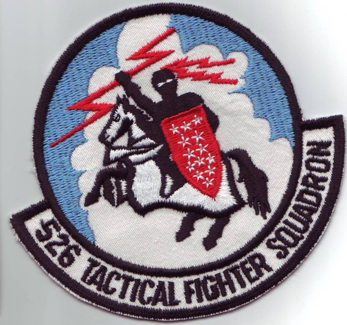 Patch 526th TacFighterSqn