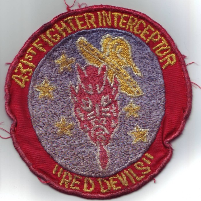 Patch 431 Fighter Interceptor early sixties