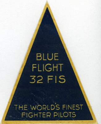 32FIS Blue Flight Patch viaVadas 400